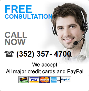 Free Consultation, Call Now 352-787-4700